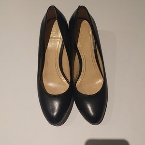 🍀🍀Black genuine leather shoes by Cole Haan🍀🌸